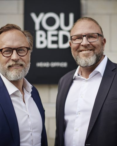 Fredrik Fexe, Executive Vice President, Head of Strategy and Business Development at Business Sweden & Mattias Sörensen CEO of YouBed
