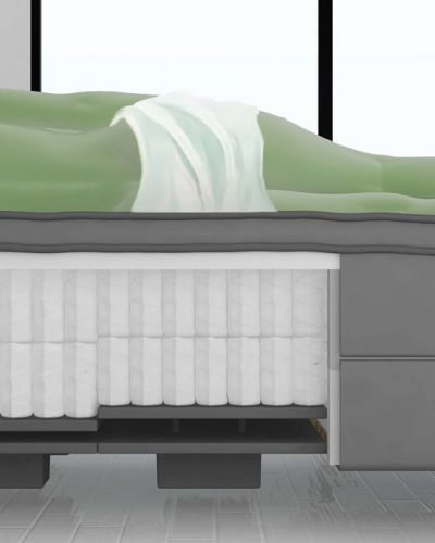 YouBed illustration of bed and remote